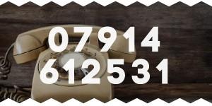 Mobile 07914 612531